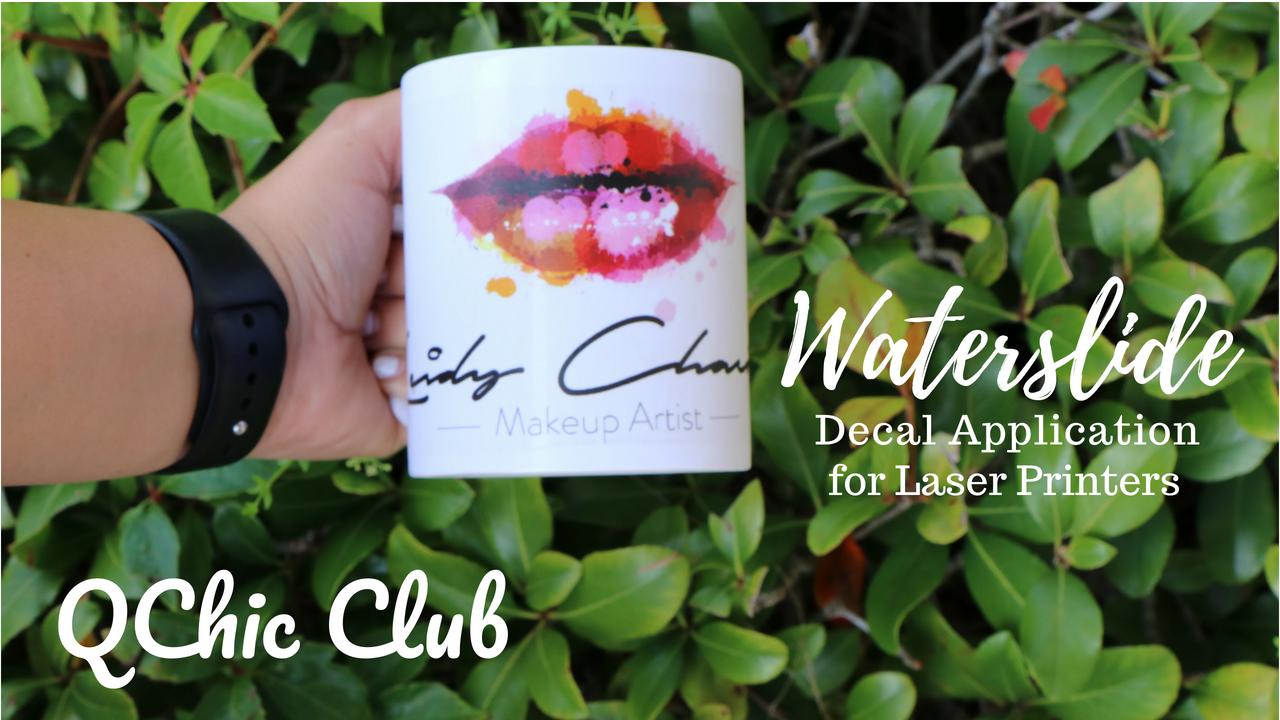 How to Waterslide Decal Application on a Mug